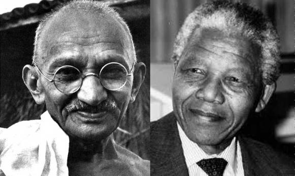 Gandhi and Mandela 2