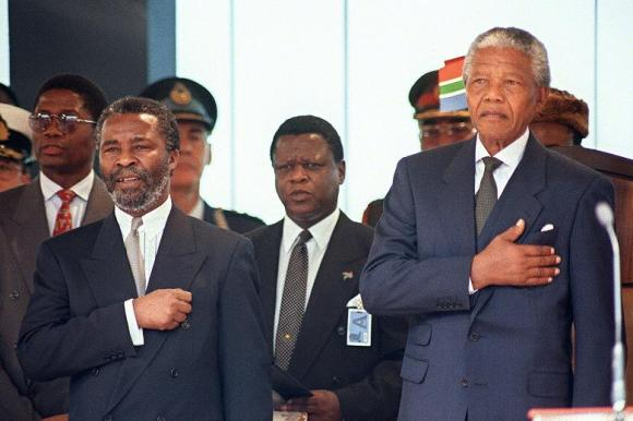 mandela in May 1994